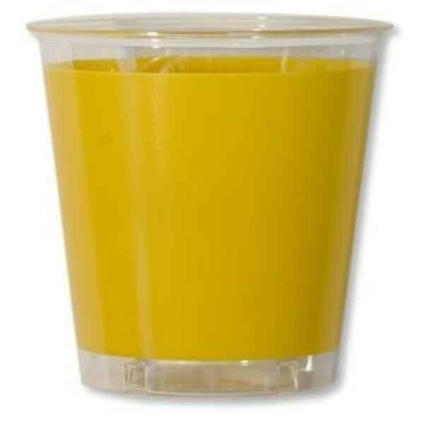 Bicchieri di Plastica Giallo 300 cc Extra