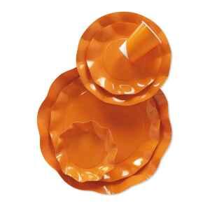 Bicchieri di Plastica Arancione 300 cc Extra