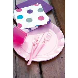 Bicchieri di Plastica Rosa Pink 300 cc Extra
