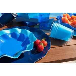 Bicchieri di Plastica Turchese 300 cc Extra