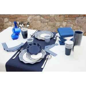 Bicchieri di Plastica Blu Notte 300 cc Extra