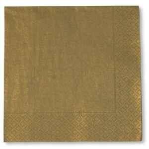 Tovaglioli Oro 33 x 33 cm 3 confezioni Extra