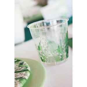 Bicchieri di Plastica 300 cc Mughetti 3 confezioni Extra