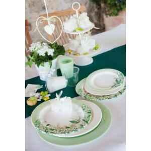 Bicchieri di Plastica Verde Salvia 300 cc Extra