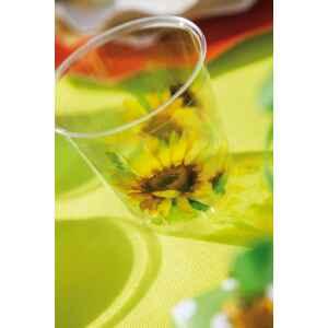 Bicchieri di Plastica Sunflower 300 cc Extra