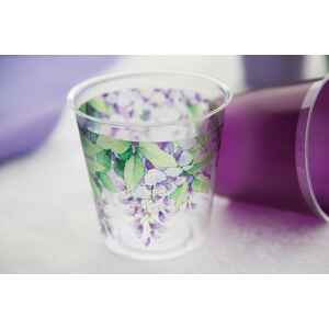 Bicchieri di Plastica 300 cc Glicine 3 confezioni Extra