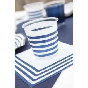 Bicchieri di Plastica Navy Blu 300 cc Extra