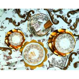 Tovaglioli Noblesse Oro 33 x 33 cm 3 confezioni Extra