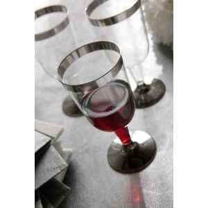 Bicchieri di Plastica Cerimonie Vino 175 cc Extra