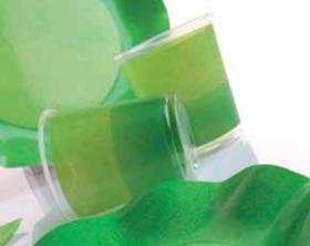 Bicchieri di Plastica PPL Bicolore Verde - Verde Scuro 250 cc 3 confezioni Extra