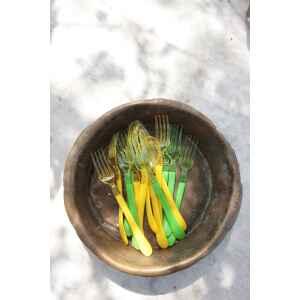 Extra Cucchiai Linea Clear Head Verde