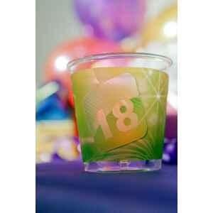 Bicchieri di Plastica 18 Anni App 300 cc 3 confezioni Extra