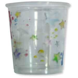 Bicchieri di Plastica PPL 18 Anni Stelle 250 cc 3 confezioni Extra