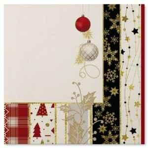 Tovaglioli Natale Patchwork 33 x 33 cm 3 confezioni Extra