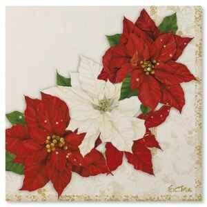 Tovaglioli Stella di Natale 33 x 33 cm Extra