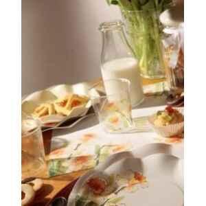 Bicchieri di Plastica 300 cc Floreali Narcisi 3 Confezioni Extra