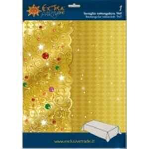 Tovaglia Rettangolare XMAS LIGHT GOLD 140 x 240 cm Extra