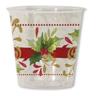 Bicchieri di Plastica Tradition Agrifoglio 300 cc 3 confezioni Extra