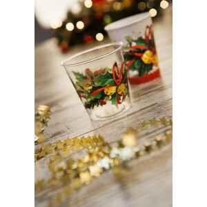 Bicchieri di Plastica Jingle Bells 300 cc 3 confezioni Extra