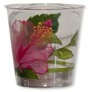 Bicchieri di Plastica Ibiscus 300 cc 3 confezioni Extra