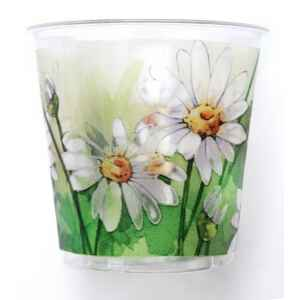 Bicchieri di Plastica Margherite Pretty 300 cc 3 confezioni Extra