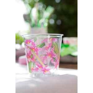 Bicchieri di Plastica Orchidea 300 cc Extra