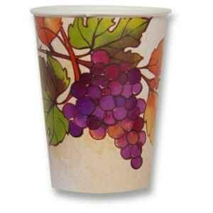 Bicchieri di Carta Autunno Grapes 250 cc Extra