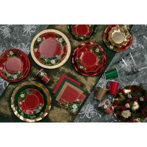 Tovaglioli Elegance Christmas 33 x 33 cm 3 confezioni Extra