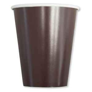 Bicchieri Compostabili Marrone Cioccolato 250 cc Extra