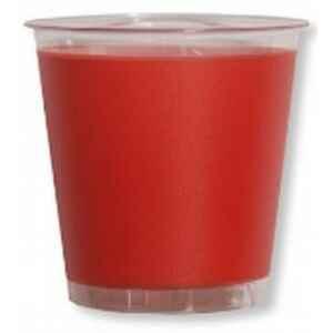 Bicchieri di Plastica Rosso Corallo 300 cc Extra