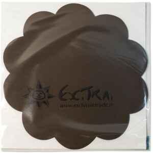 Tovagliette in TNT Smerlate Marrone cioccolato 35 cm Extra