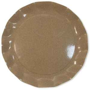 Piatti Piani di Carta a Petalo Sabbia Medio 32,4 cm Extra