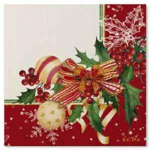 Tovaglioli Compostabili Christmas Decoration 33 x 33 cm 3 confezioni Extra