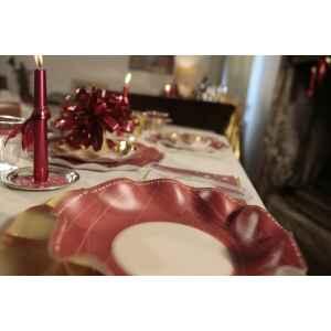 Extra Piatti Piani di Carta a Petalo Natale Galaxy 24 cm