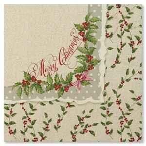 Tovaglioli Shabby Christmas 33 x 33 cm Extra