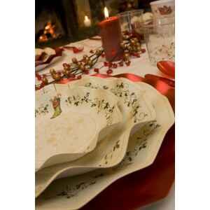 Extra Piatti Fondi di Carta a Petalo Natale Decoration 24 cm