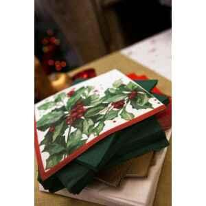 Tovaglioli Christmas Style 33 x 33 cm 3 confezioni Extra