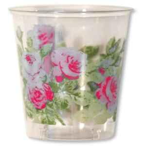 Bicchieri di Plastica Eden Rosa 300 cc Extra