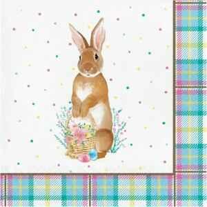Tovagliolo Storybook Easter Bunny 33 x 33 cm 3 confezioni