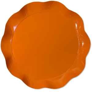Vassoio Tondo 30 cm Arancione 1 Pz Extra