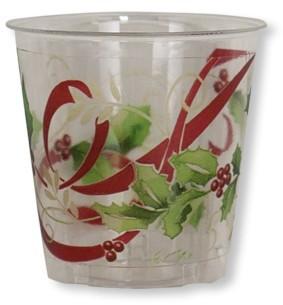 Bicchieri di Plastica Ribbon 300 cc Extra
