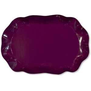 Vassoio Rettangolare Prugna 46 x 31 cm 1 Pz Extra