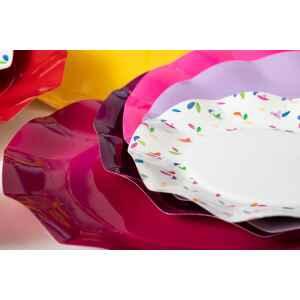 Piatti Piani di Carta a Petalo Spring 21 cm Extra