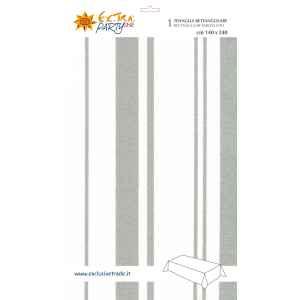 Tovaglia Rettangolare Classic Silver 140 x 240 cm Extra