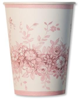 Bicchiere di Carta Rose Garden 250 cc Extra