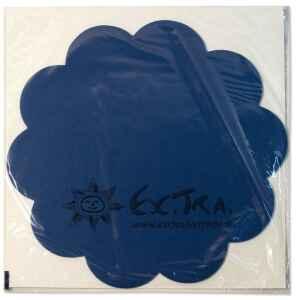 Tovagliette in TNT Smerlate Blu Cobalto 35 cm Extra