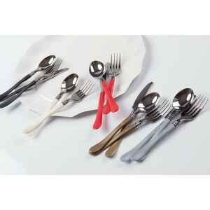 Extra Forchette Linea Silver Head Rosso
