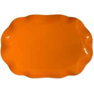 Vassoio Rettangolare Arancione 46 x 31 cm 1 Pz Extra