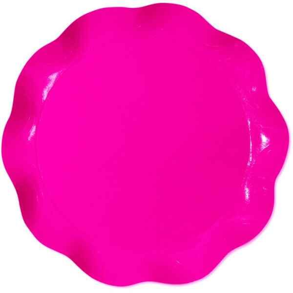 Vassoio Tondo Rosa Pink 40 cm 1 Pz Extra