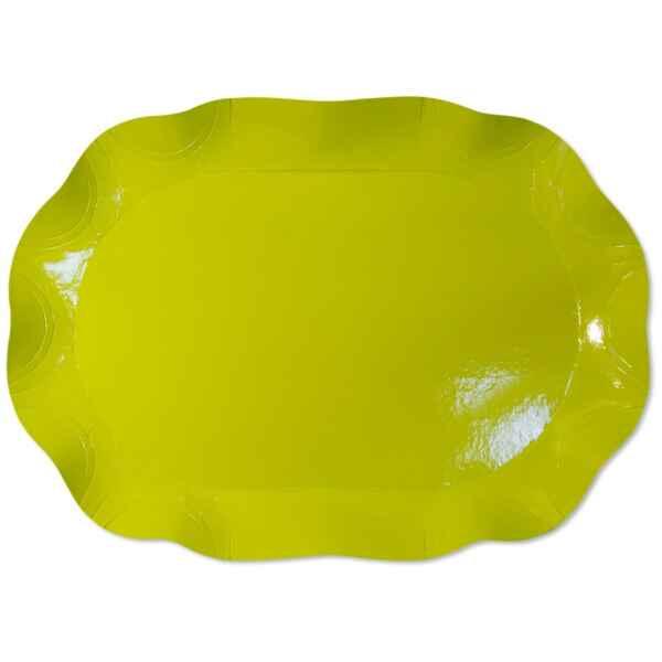 Vassoio Rettangolare Verde Lime 46 x 31 cm 1 Pz Extra